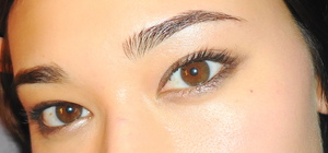 looks like i used virgin, sin, sidecar, and dark horse (to line the lash line) and probably a brown mascara