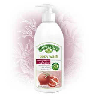 Nature's Gate Pomegranate Sunflower Velvet Moisture Body Wash