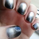 Silver And Black Gradient