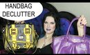 How I Organized & Decluttered My Handbag Collection   Purse Purge