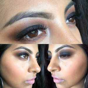 heres a smokey eye i did using mac cosmetics shadows and eye kohl and except the lashes, they were no brand but #600