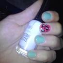 Pretty Mint&Pink Leopard