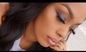 Easy holiday makeup tutorial