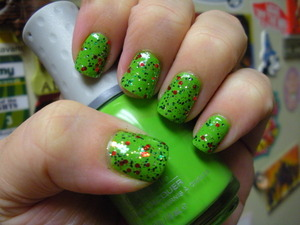 Orly Fresh, and China Glaze Party Hearty