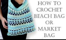 How to Crochet Beach Bag