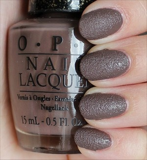 From the San Francisco Collection coming out in August. See my in-depth review & more swatches here: http://www.swatchandlearn.com/opi-its-all-san-andreass-fault-swatches-review/