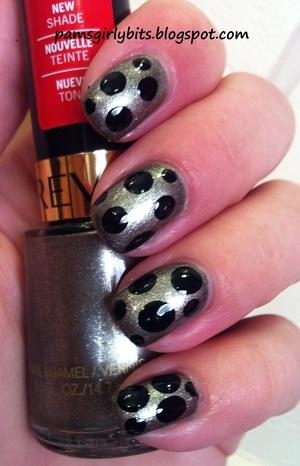 revlon carbonite nail art 1