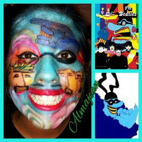The Beatles,The Yellow Submarine inspired look