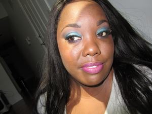 Be sure to check out my tutorial on YT that I did for this look ft. Milani's Teal the Truth