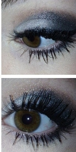 It's still simple but very sparkly and classy with the winged eyeliner! Comment with request for pictorials/videos!!