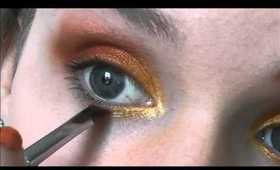 The Hunger Games: District 5 make up tutorial