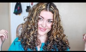 Finger Coiling Wavy/Curly Hair