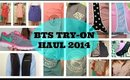 BTS TRY-ON Haul : J. Crew, VV, Polo, + more