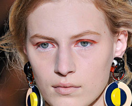 Marni Makeup, Milan Fashion Week S/S 2012