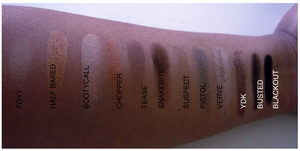 SWATCHES FOR NAKED 2