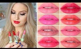 Lip Swatches & Review ♡ Pixi by Petra Mattelustre Lipstick