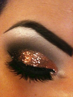 Glamin' it up with occ glitter!