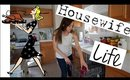 Cleaning and Cooking VLOG | Day in the Life of a Homemaker