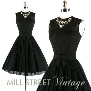 I was in a 50's era play, and ever since then, I discovered that I love 50's style dresses. They are so pretty!