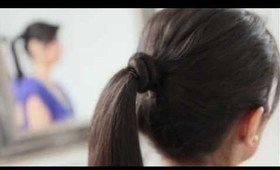 Everyday Ponytail for School or Work