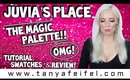 Juvia's Place | The Magic Palette!! | Tutorial, Swatches, & Review! | OMG! | Tanya Feifel