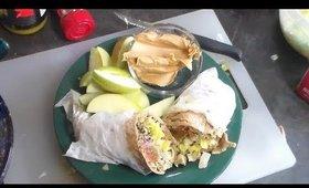 Vegan Black Bean Tapenada Pita Sandwich