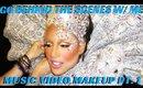 BEHIND THE SCENES VIDEO- CREATING AVANTE GARDE BEAUTY MAKEUP FOR MUSIC VIDEOS- mathias4makeup