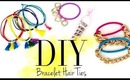 DIY Cute Bracelet Hair Ties {EASY} by ANNEORSHINE