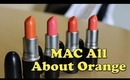 MAC All About Orange Collection Haul