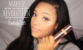 I Really Tried To Like It  Make Up Revolution Foundation Review   leiydbeauty