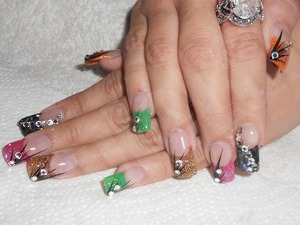 Just happy nails.. =)