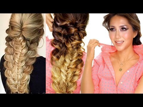 ☆ EASY TOPSY-BRAID Hairstyle | Everyday Hairstyles | Prom ...