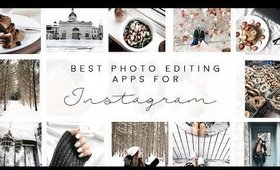 Best Photo Editing Apps for INSTAGRAM ♡ ft. iDeal Of Sweden