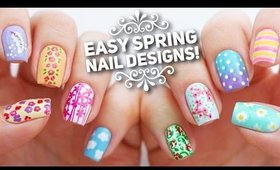 10 Easy Nail Art Designs for Spring | The Ultimate Guide!