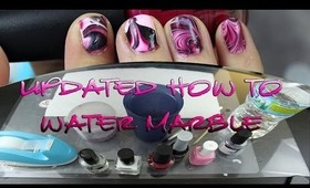 UPDATED - How To :: Water Marble