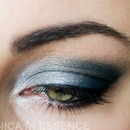 Blue evening look with Mary Kay