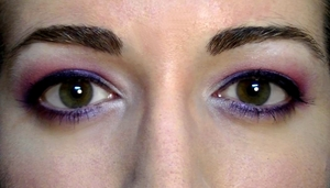 Using Smashbox colours, I created this fun party look! You can watch it here http://www.youtube.com/watch?v=TPOiQ6QDOWM