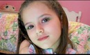 Watermelon Summer Makeup Tutorial for Kids by Emma cute 7 years old