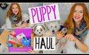 PUPPY HAUL! PupBox Unboxing!