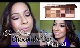 Soft Pink Smokey Eyes feat. Too Faced Chocolate Bar Palette