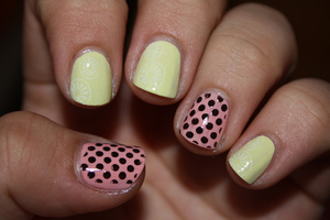 http://iloveprettycolours.blogspot.com/2012/04/spring-challenge-3-fruits-and-dots.html