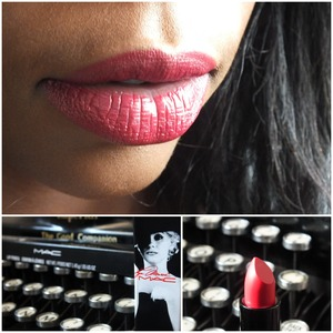 Showcasing Love Goddess from the Limited Edition MAC Marilyn Monroe Collection