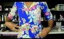 HAUL: Romwe Fashion (Lace Denim Shorts, Camo Tee Dress & Floral Romper)