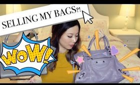 Selling my Designer Bags!? Louis Vuitton, Prada, Celine, Gucci and more!