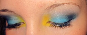 My friend wanted yellow and blue. :D