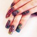 Aztec & glitter...