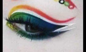 Summer Olympics Makeup