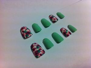 Completed floral design! :)