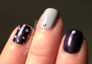 My entry for the 31 Day Nail Art Challenge - Day 6