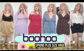 HUGE Boohoo Plus Size Try On Haul | Spring 2020